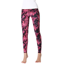 Women Print High-waist Hip Stretch Running Yoga Pants Seamless Leggings Sport Women Fitness Gym Leggings Gym Sharks Yoga Legging(China)