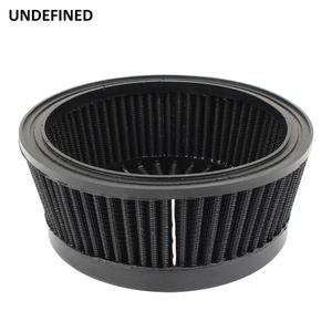 Image 2 - Motorcycle Air Cleaner Filter System Inner Element Black For Harley Sportster 883 1200 XL Dyna Softail Fat Boy Touring Road King