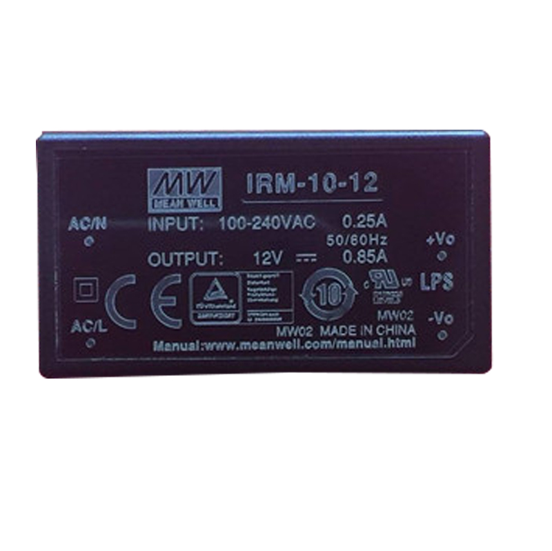 IRM-01/02/03/05/10  meanwell power supply ac dc 3.3/5/12/15/24V class 2 design smps  Waterproof  dustproof miniature-5