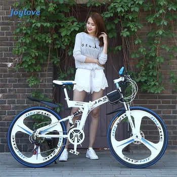 bike fixed gear bike snowmobile 4 0 widened large tire variable speed fat tire car shock absorption mountain road bike bicycles JOYLOVE 24/26-Inch Mountain Bike Adult Students Undefined Variable Speed Car Folding Double Disc Brake Shock Absorption Bicycle