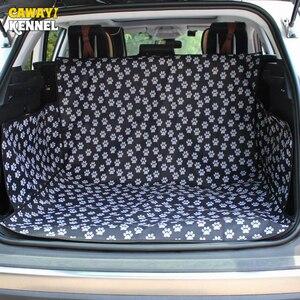 Image 2 - Caseta de CAWAYI Protector para asiento de coche para perros, alfombrilla para maletero, transporte para gatos y perros