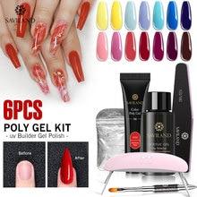SAVILAND Color Polygel Nail Kit Gel
