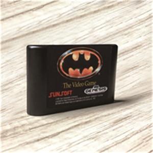 Image 1 - وحدة تحكم ألعاب الفيديو Batmaned   USA ، ملصقات ، MD ، ذهبي ، PCB ، بطاقة Sega Genesis ، Megadrive