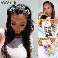New Soild Color Hairpin Women Hair Clips Small Hair Claw Bow Barrettes Duckbill Fashion Headwear Girls accessori per capelli Hairgrip