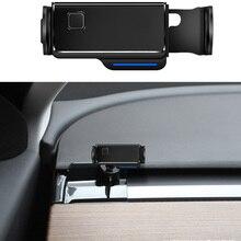 רכב נייד טלפון תמיכה אוויר Vent הר סוגר טלפון סלולרי מחזיק עבור טסלה דגם 3 X S 2016 2017 2018 2019 2020 אביזרי רכב