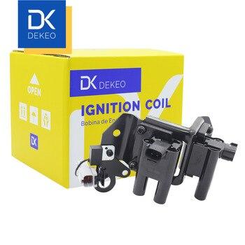 DEKEO Ignition Coils For Kia motor Chollima 1.3LG4EA 200211-200712 27301-22600