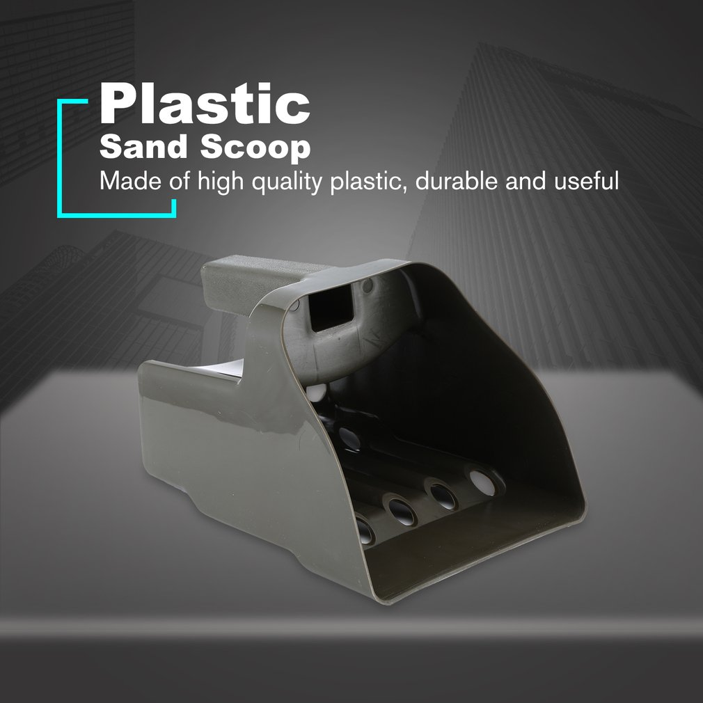 Professional Metal Detecting Bucket Sand Scoop for <font><b>MD</b></font>-4060,<font><b>3010</b></font>,4030,6350,6150,6250 And TX-850 Metal Detector Accessories image