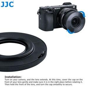 Image 5 - JJC Z S16 50 Auto Lens Cap đối với SONY PZ 16 50 mét F3.5 5.6 OSS E mount Lens