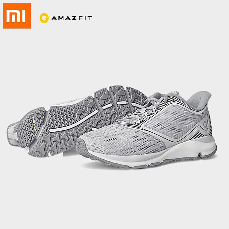 Xiaomi Amazfit Antelope Running Shoes Outdoor Sneakers Rubber Smart Sports Shoes Support Smart Chip APP Control  PK Mijia 2
