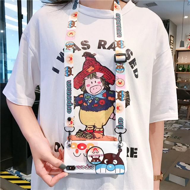 Cute hot Japan Anpanman Cartoon soft silicon cover case