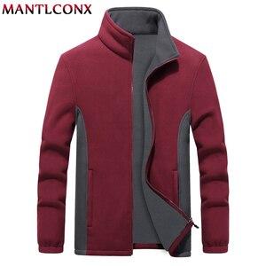 Image 5 - MANTLCONX M 9XL Fleece Jacke Männer Große Größe Jacke Mantel Männer Oberbekleidung Große Größe Im Freien Warme Jacken und Mäntel für Männer winter