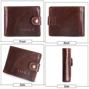 Image 5 - Cobbler legend Genuine Leather Wallet Men Bifold Business Vintage  2020 New Coin Pocket Designer Brand High Quality Short Purses