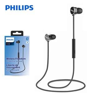 Image 5 - Original Philips TAUN102 Bluetooth 5.0 In ear casque suspendu cou magnétique pour le sport avec Support micro vérification officielle