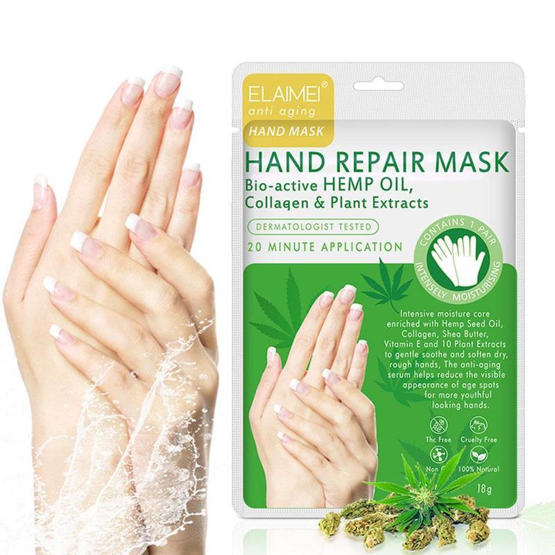 Plant Extract Moisturizing Exfoliating Hand Mask Nourishing Repair Skin Care Hand Membrane