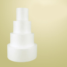 Polystyrene Styrofoam Foam cake model DIY Handmade material for baking, turning sugar and decorating Thickness 10cm