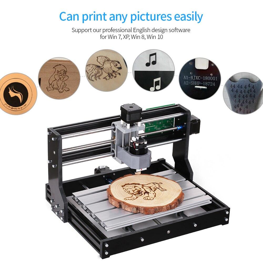 New!Promotion!100-240V CNC Laser Engraving Machine GRBL Control 3 Axis CNC3018 DIY Engraver Desktop Wood Router/Cutter/Printer