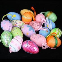 6 stücke Ostern Eier Diy Eierschale kinder Handgemachte Spielzeug Urlaub Geschenke Ostern Dekorationen
