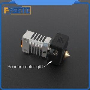 Image 2 - Cr10 dissipador de calor todo o metal hotend kit atualização para CR 10 Ender 3 impressoras micro suíço cr10 hotend titânio disjuntor garganta