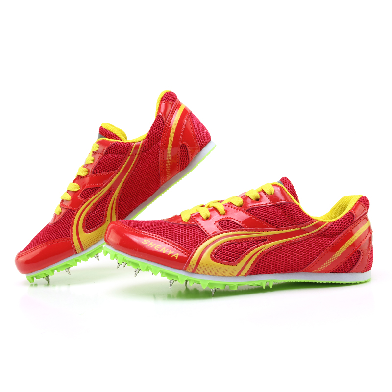 Sports-Shoes Nail-Spikes Track Field High-Jump Cleats-Sneakers Sprints Women's Training