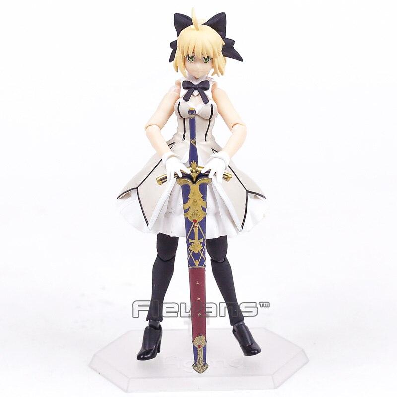 Fate//Grand Order Figma Saber Archer Altria Pendragon EX-041 Figure Toy No Box