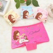 Panty Girls Underwear Panties 2 Pcs Cotton Cartoon Kids Girl Briefs Puberty Lingerie Calcinha Infantil Clothing