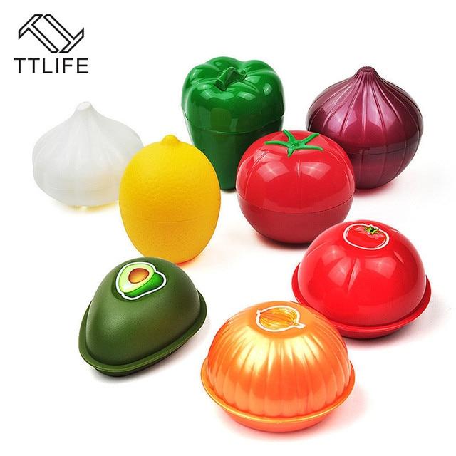 Creative Fresh Box Food Crisper Tomato Food Savers Kitchen Vegetable Containers