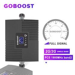 3G 2G Repeater 1900 3G wzmacniacz sygnału 2G GSM wzmacniacz sygnału komórkowego sztuk 1900MHZ dla telefonów komórkowych wzmacniacz Band2 wyświetlacz LCD # w Wzmacniacze sygnału od Telefony komórkowe i telekomunikacja na