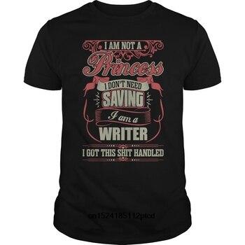 Funny Men T Shirt Women Novelty Tshirt I Am A Writer T-Shirt Cool