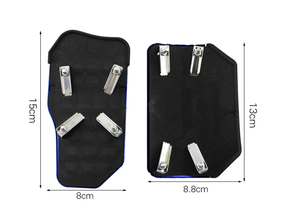 New car supplies anti-skid gearbox pedal cover brake accelerator for Ford SVT Reflex Freestar F150 Crown BF 4-Trac