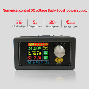 Image 2 - XYS3580 DC DC Buck Boost CC CV 0.6 36V 5A Power Module 5V 12V 24V Adjustable Regulated laboratory power supply variable