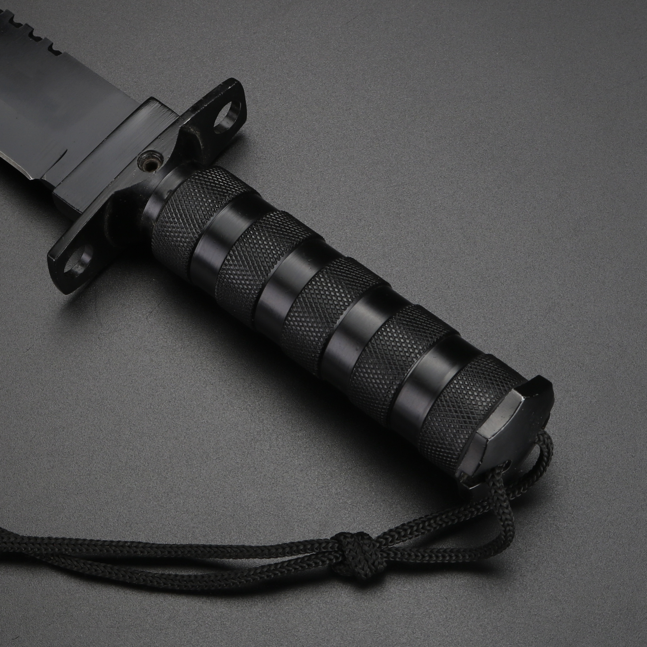 Tools : Wilderness Hunting Knife Black Outdoor Survival Knives Camping Fixed Knife Stainless Steel Multi Hand Knives for Hiking Jungle