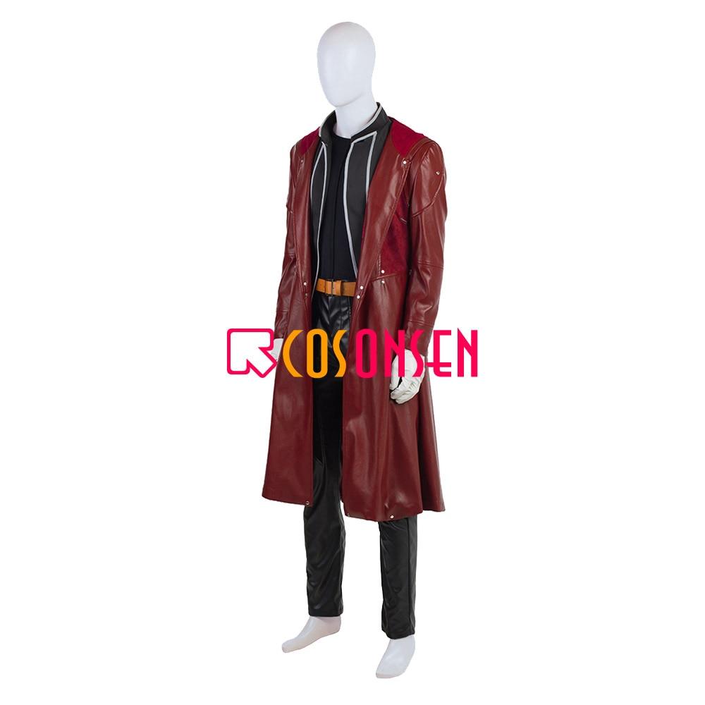Anime fullmetal alquimista cosplay edward elric traje