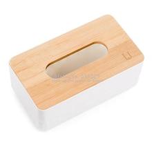 Натуральный Бамбук креативная столовая Европейский стиль простой стиль бумажная коробка для полотенец прочный материал ПП не скользящая основа