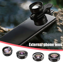 Lente do telefone móvel fisheye extensão ultra-grande angular grande-ângulo de alta definição lente do telefone móvel externo acampamento ao ar livre trave