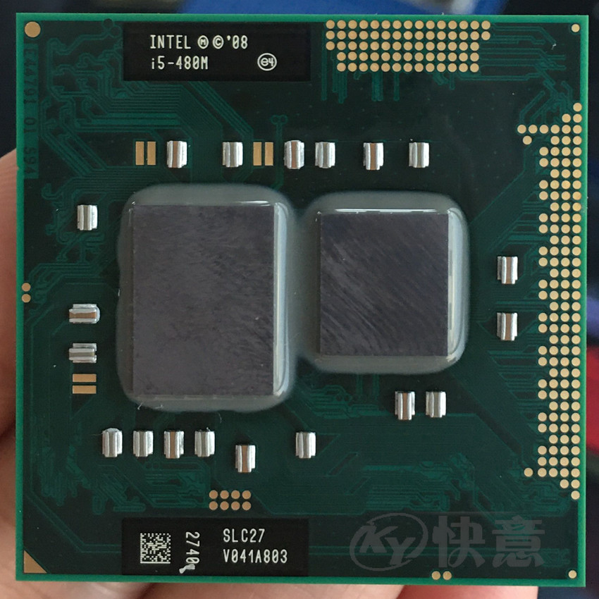 Процессор Intel Core I5 480m 3 M/2,66 GHz/2933 MHz/двухъядерный процессор для ноутбука I5-480M, совместимый с HM57 HM55