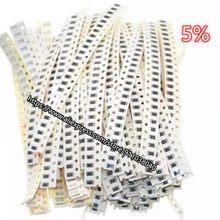 200pcs/lot Chip resistor 43K-82K 0201 5% 0402 0603 0805 1206 1210 2010 2512 ( 43K 47K 51K 56K 62K 68K 75K 82K ) in stock hotsale