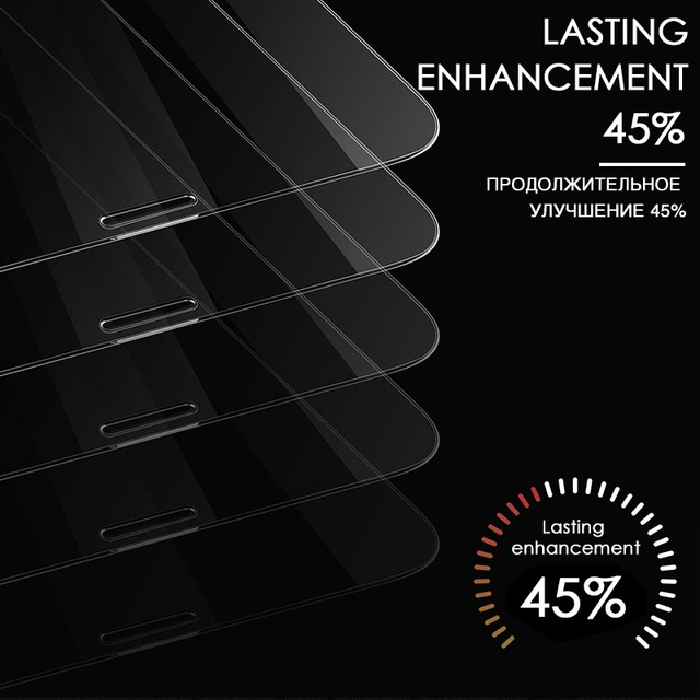 3PCS Protective Glass on the For iPhone 11 Pro X XR XS Max Tempered Screen Protector For iPhone 7 8 6 6s Plus 11 PRO Max Glass 4