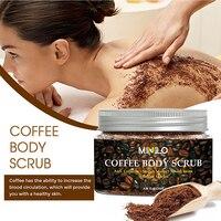 Coffee Scrub Body Scrub Cream Treatment Acne Facial Dead Sea Salt For Exfoliating Whitening Moisturizing Anti Cellulite  TSLM1 1