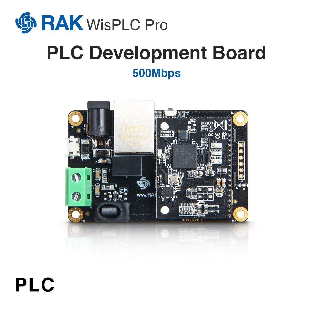 Placa de desarrollo wispcc Pro, módulo PLC, línea de alimentación/par trenzado/Interfaz Ethernet  500 Mbps, adaptador de red de soporteboard boardline powerboard module -