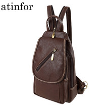 Backpack Women Purse Shoulder-Bags Travel Female Small Vintage Mini School Casual Soft