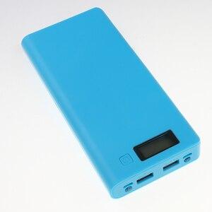 Image 4 - Kebidu Novo Multi cor 8*18650 Caixa de Bateria Shell Banco de Potência De Lítio ion Portátil Display LCD Externo caixa Sem Bateria