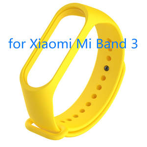 Wristband Sport-Wrist-Strap Soft-Silicone Smart 3-Bracelet Water-Proof Replacemet