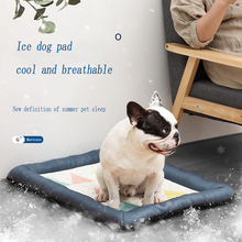 Summer Dog Cooling Mat Pet Ice Pad Puppy Mattress Pet Cool Mat dog beds for large dogs & small dogs цена