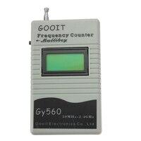 GY560 детектор частоты 50 МГц-2,4 ГГц измеряемая частота