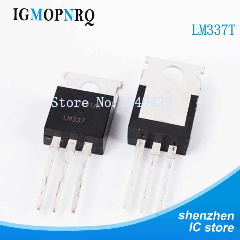 2PCS LM337T LM337 TO-220 Negative Adjustable Regulator IC