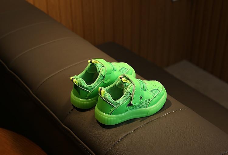 Bebê da criança sapatos de malha 0-3