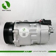 цена на AC Compressor air pump SD7V16 fit Volkswagen Polo Golf Bora New Beetle Seat Audi TT A3 1997 - 2001 1J0820803L 1J0820805