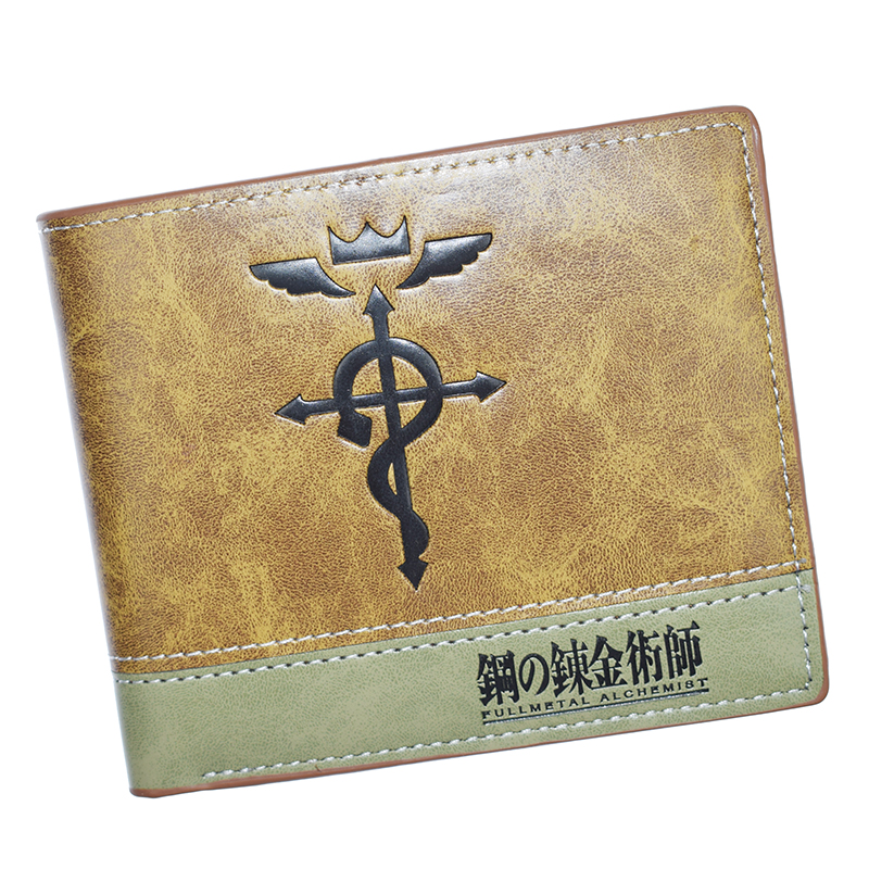 Hot Sell Rick And Morty / Fullmetal Alchemist / Bizarre / APEX Short Wallets Women Purse