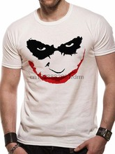 เสื้อผ้า ABSOLUTE CULT Dark Knight Mens JOKER Outline T เสื้อ 2174(China)