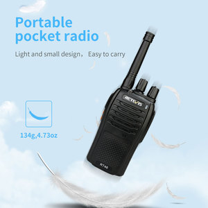 Image 2 - A Pair RETEVIS RT46 Walkie Talkie PMR Radio PMR446/FRS Portable Two Way Radio VOX Micro USB Charging  Li ion (or AA) Battery